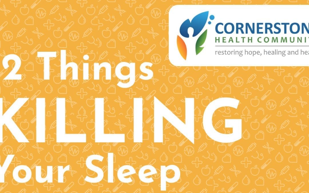 "12 Things KILLING Your Sleep: Insomnia's ""Dirty Dozen"""